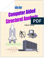 Computer Aided Structural Analysis