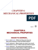 6 Mechanical Behaviour of Materials