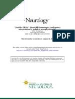 06 ''Just Like EKGs!'' Should EEGs Undergo a Confirmatory