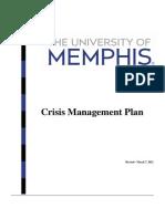 Crisis Mgmt Plan