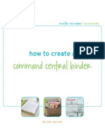 Command Central Binder by Aby Garvey