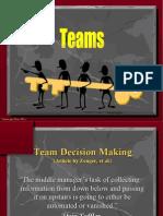 Team Decisions