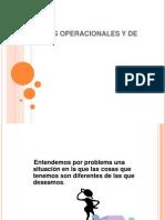 Problemas Operacionales y de Magnitud