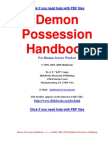 Demon Possession Handbook