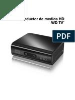 Instrucciones WD Media Player