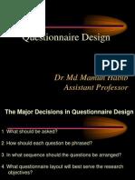 Research methodology- attitude measurement