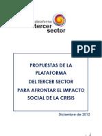 Propuestas PTS Afrontar Impacto Social Crisis Dic'12