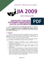 Concurso Fotográfico JIA 2009