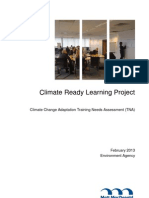 Climate Ready Learning Project Final Report