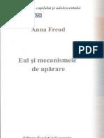 Anna Freud Eul Si Mecanismele de Aparare