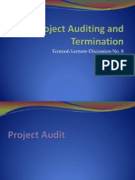8. Project Auditing and Termination
