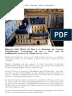 Hotel de Jars - Mansard - Plans Et Elevations