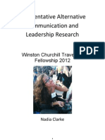 Augmentative Alternative Communication and Leadership Research