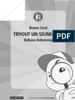 B.indonesia Try Out SD