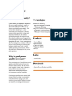 Power Quality and Technologies
