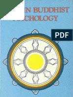 Mind in Buddhist Psychology