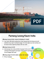Pantang Larang Kaum India