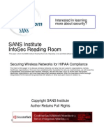 Securing Wireless Networks Hipaa Compliance 1335