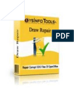 OpenOffice Draw Repair Software