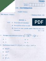 Maths Mar07