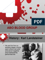 Abo Blood Group System Student Copy