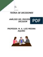 TEORIA de DECISIONES Notas de Clase Incertidumbre y Riesgo