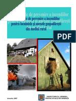 Ghid Prevenire Incendii Mediu Rural