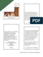 Pope Benedict Novena