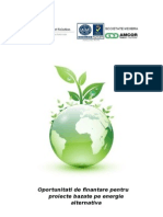 Prezentare Fonduri Energie Regenerabila