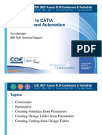 Introduction to CATIA Parameters and Automation