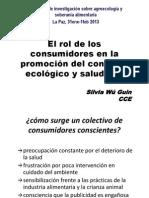 El rol del consumidor SILVIA WU