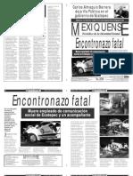 Versión impresa del periódico El mexiquense 25 febrero 2013