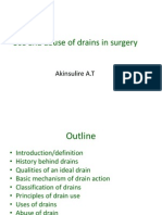 20325501 Use and Abuse of Drains in Surgery1