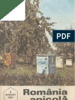 Romania Apicola 1991 Nr.8 August