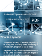 Summer Training -Embedded System and Its SCOPE