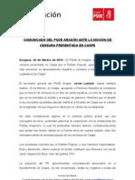COMUNICADO PSOE ARAGÓN-MOCIÓN CENSURA CASPE.doc