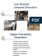 Work Related Musculoskejjjletal Disorders (1)
