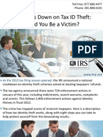 IRS Cracks Down on Tax ID Theft