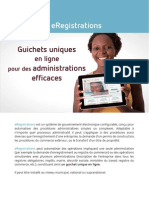eRegistrations Brochure FR