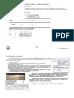 Notación Científica y Uso de la Calculadora