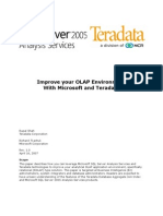 Teradata-Microsoft White Paper - AJI and OLAP