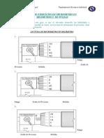 Ejercicios de Micrometro Mm Pulg