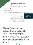 Simple Future Tense