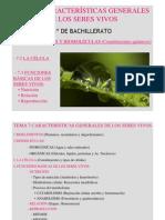 Tema 7.1 BIOELEMENTOS Y BIOMOLÉCULAS 12-13