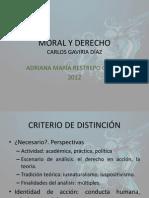 Carlos Gaviria-Moral y Derecho