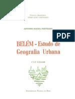 Belém - Estudo de Geografia Urbana por Antonio R. Penteado (UFPA - 1988)