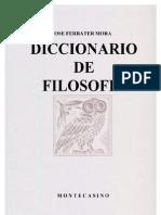 Ferrater Mora - Dicc de Filosofia B