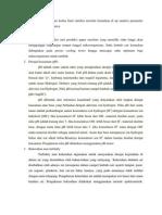 Uji Analisis Parameter Pengolahan Limbah