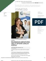 Demo Day - Telegraph Journal - News - Event __ Business Mentors Help Spark Great Ideas