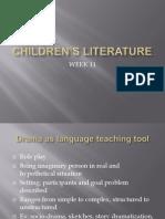 CHILDREN'S LITERATURE week 11